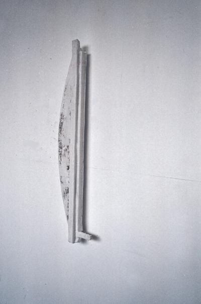 holz jute und gips, 90/ 32/ 12 cm, 1997