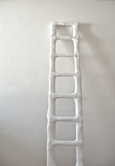 ( detail ), holz, jute und gips, 198/ 45/ 12 cm, 2010