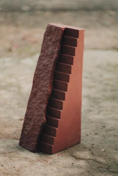 roter mainsandstein, 40/ 21/ 18 cm
