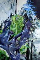Elois Wald 2011, Oil/Canvas, 220x150cm -
