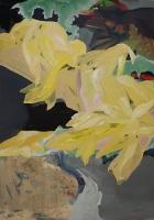 Maisette 2011, Oil/Paper, 100x70cm -