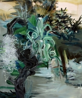 Plantae 2010, Oil/Canvas, 120x100cm -