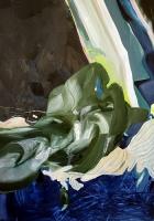 Verwerfungen 2011, Oil/Paper, 100x70cm -