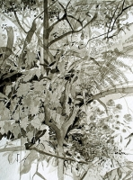 Areal006 2010, Ink/Paper, 32x24cm -