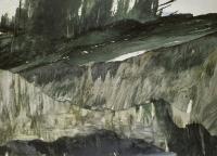 storm, 180x250cm, Oil on canvas,