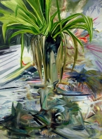 Palme 2012, Oil/Canvas, 190x140cm