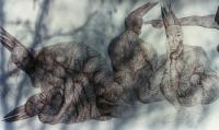Kugelschreiberzeichnung 1 / 6m x 1.50m / Detail I -