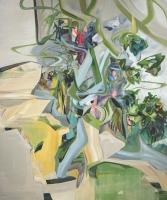 Alter Zauber grelle Zeiten, 2013, Oil/Canvas, 180x150cm  -