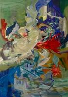 Tränen der Byblis, 2013, Oil/Canvas, 200x140cm -