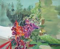 Entflammen Zerflattern Verwehen, 2013, Oil/Canvas, 100x120cm -