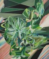 Lebende Bruchstücke von gestern, 2013, Oil/Canvas, 180x150cm