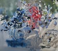 Schneekönigin, Oil/Canvas, 80x90cm -