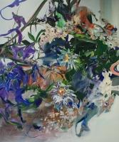 Turbulenzen, Oil/Canvas, 180x150cm -