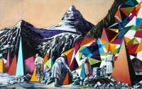 Je länger man zögert, desto fremder wird man / 2016 / oil on canvas / 70 x 100 cm