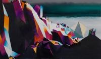 Die Tragweite des unbedeutendsten Gedanken nicht erahnen können / 2015 / oil on canvas / 70 x 120 cm