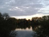 Blick aus dem Blauen Haus -