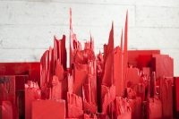 point of red / 6 -