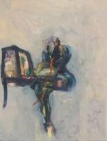 Figure, seated