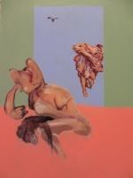 Torment of Aglauros  Triptych  2015