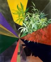 Korridor, Oil/Canvas, 170x140cm -