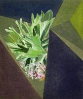 Tropen, Oil/Canvas, 65x55cm -