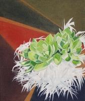 Von Südamerika bis Texas, Oil/Canvas, 65x55cm -