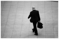 - One Man, rushing, working