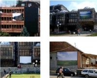 Installation view - Prishtina, city center